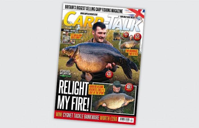 Carp Talk Cover Rob Hughes