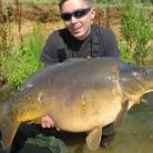 Steve Evans 33lb 40z mirror